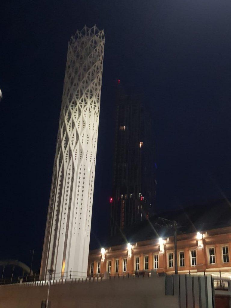 Tower Of Light - Installation
